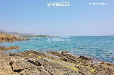 acheter sur la costa brava: villa ref.3399, vue entre mer et montagnes aux alentours