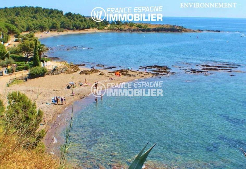 costa brava maison a vendre, ref.3399, vue sur la plage environnante
