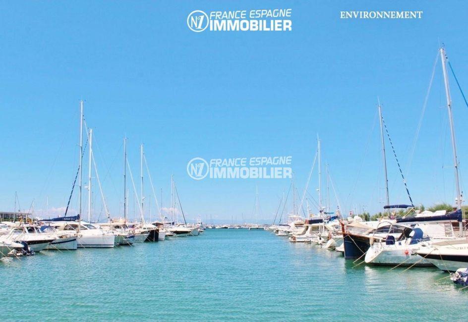 maison a vendre espagne catalogne, ref.3402, vue sur la marina à proximité