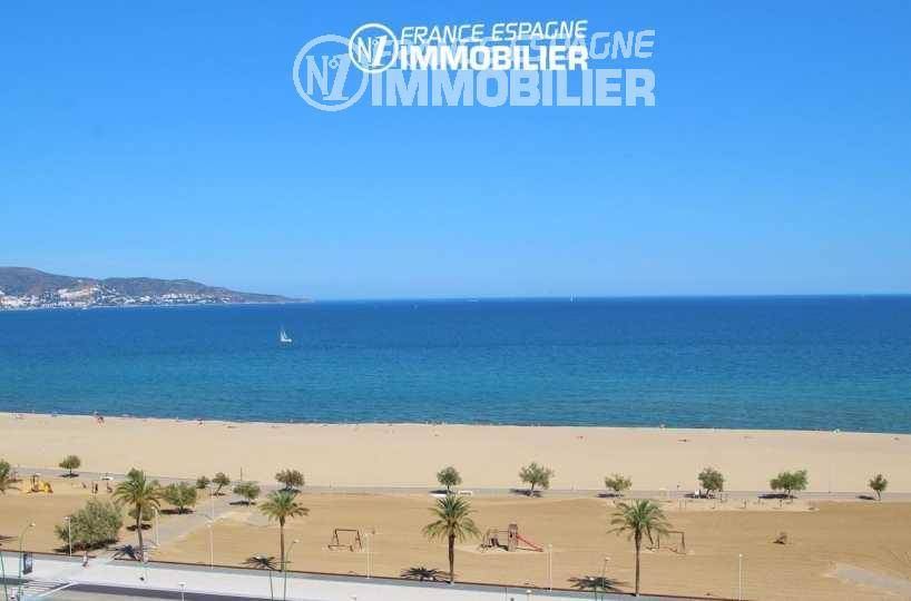 Exclusivité - Empuriabrava - Bel appartement premiere ligne de mer