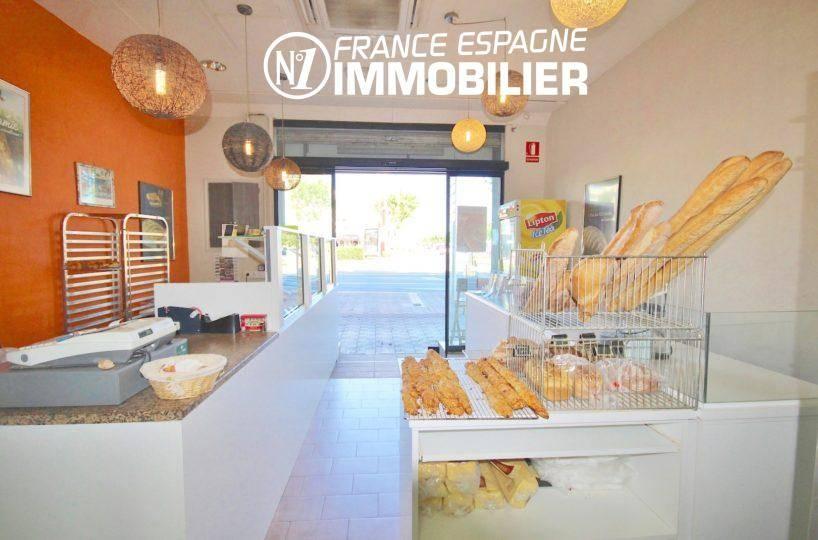 agence immobiliere costa brava: ref.3455, fonds de commerce boulangerie