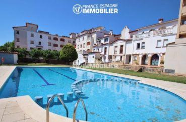 immo empuriabrava: appartement ref.3459, atico, terrasse et piscine