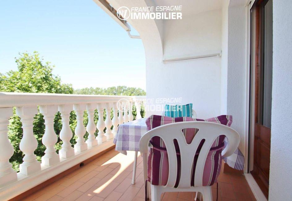 immobilier empuria brava: appartement ref.3459, terrasse 9 m² accès séjour et chambre