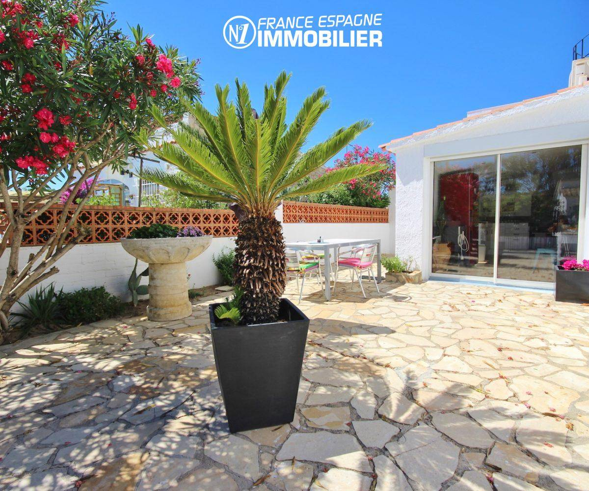 immo costa brava, villa 160 m² à Rosas, jacuzzi solarium, vue mer