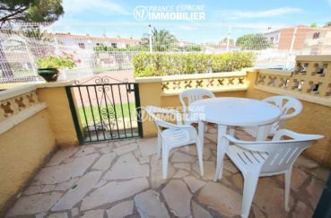maison a vendre espagne, ref.3446, vue de la terrasse arrière vers l'extérieur