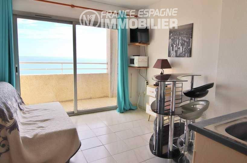 immocenter empuriabrava: France Espagne immobilier vend appartement 29 m² pas cher