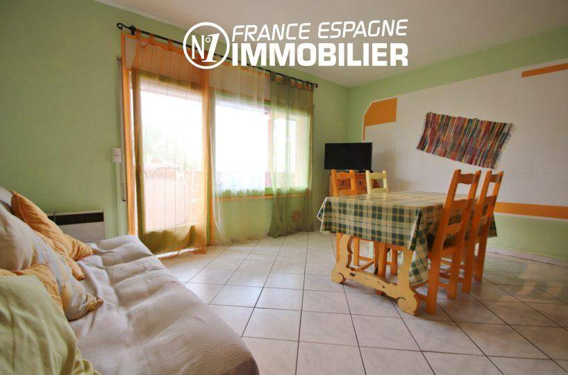 vente immobiliere espagne: Rosas, appartement 83 m² vue mer proche plage
