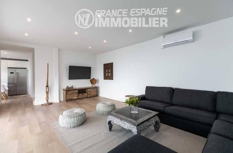 vente immobilier rosas espagne: villa ref.3433, vue d'ensemble du salon