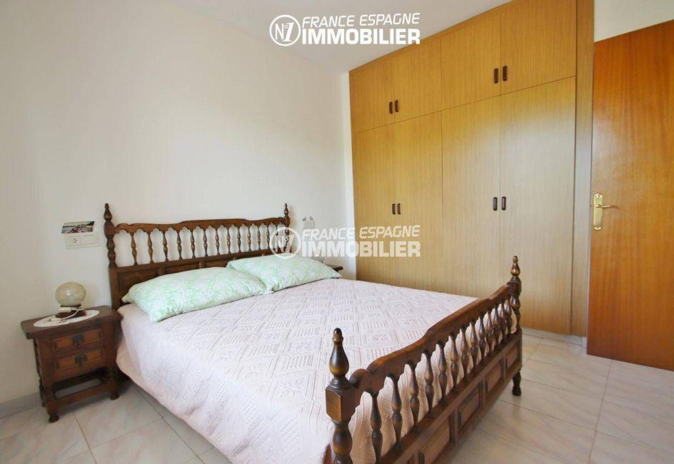 immo espagne costa brava: appartement ref.3459, chambre double avec placards