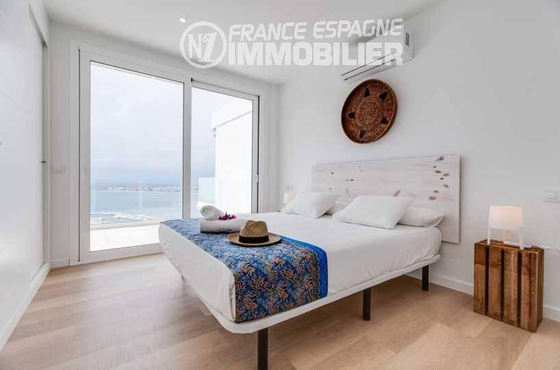 costa brava immobilier: villa ref.3433, autre aperçu chambre 1 avec accès terrasse