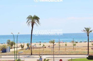 immobilier ampuriabrava: appartement ref.3471, vue mer latérale, à 100 m de la plage