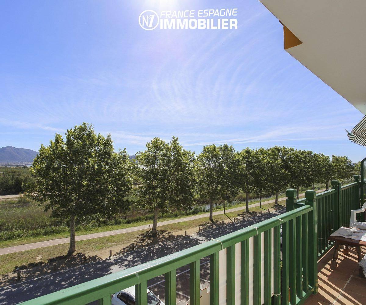 immo costa brava: appartement ref.3470, aperçu canal, parc naturel de la terrasse