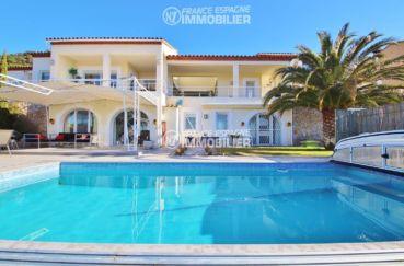 maison a vendre espagne costa brava, ref.3481, piscine couverte de 8 x 4 m