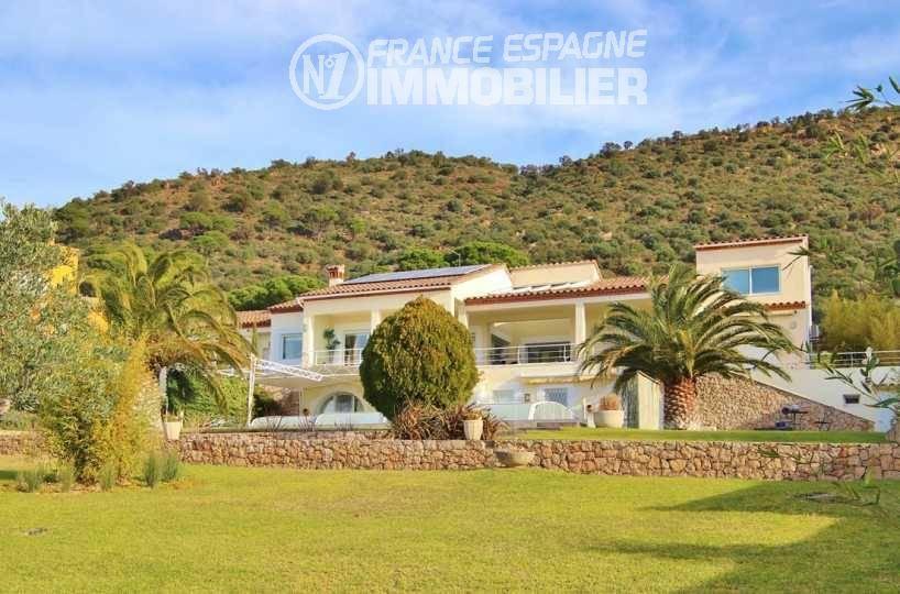 achat immobilier costa brava: villa ref.3481, vue mer / montagnes, piscine et appartement indépendant