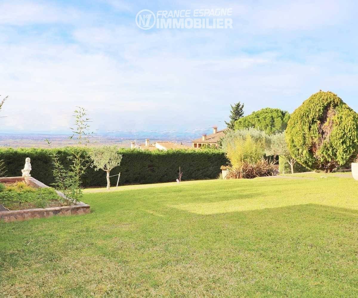 maison a vendre espagne bord de mer, ref.3481, vue magnifique depuis le jardin