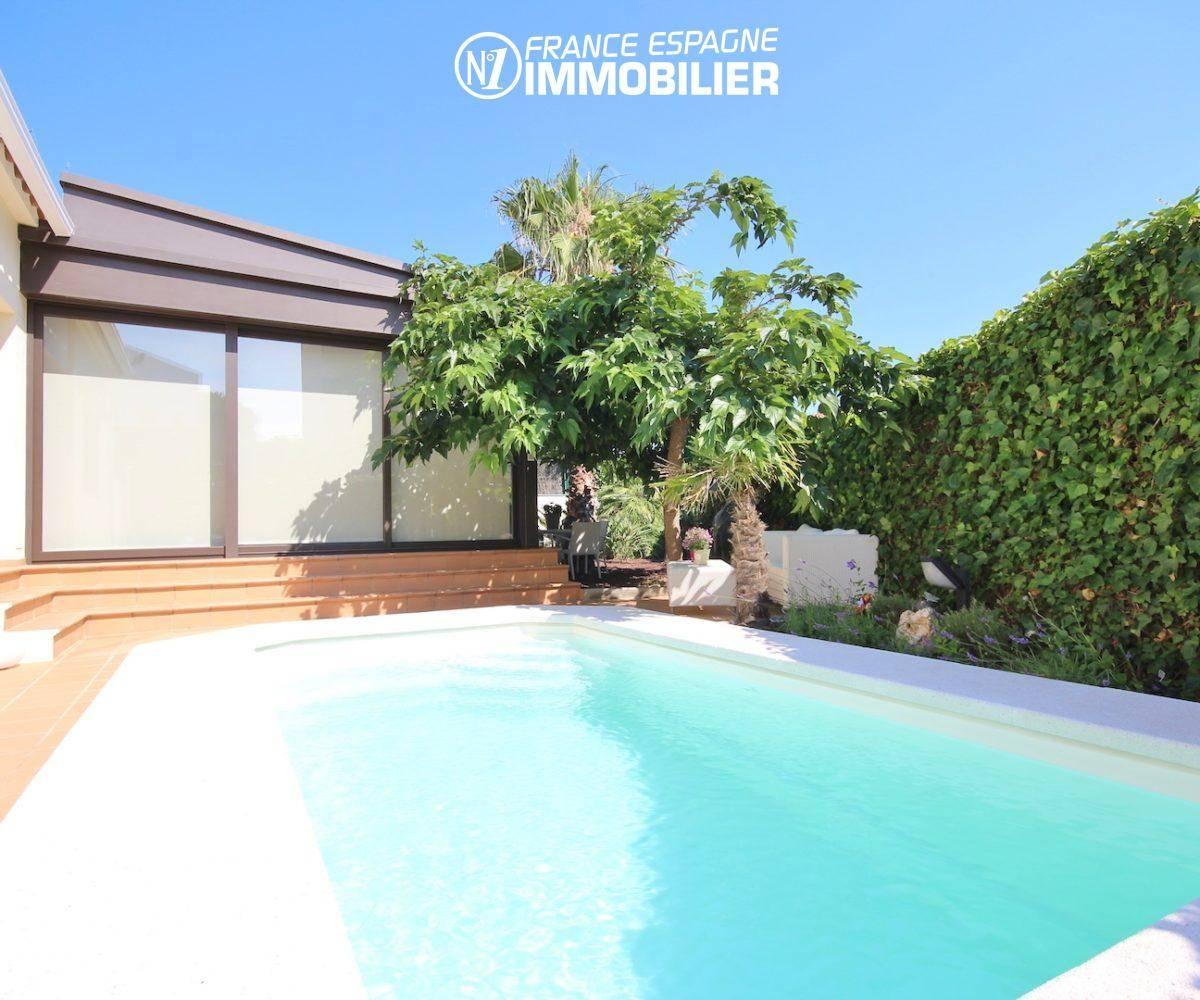 agence immobiliere rosas: villa ref.3466, vue plongeante sur la piscine