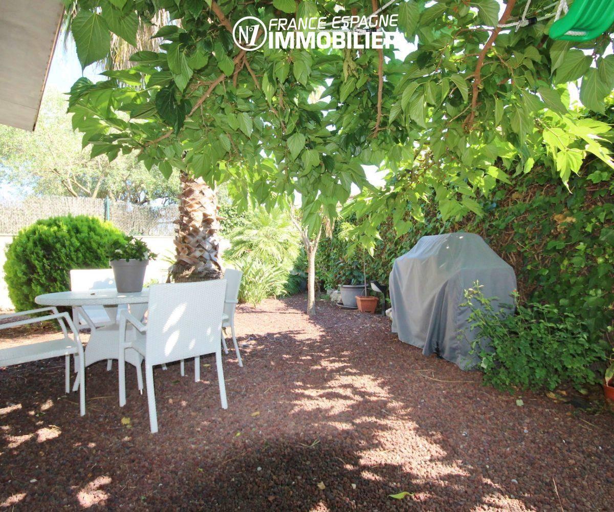 agence immobilière rosas: villa ref.3466, aperçu des extérieurs, coin terrasse