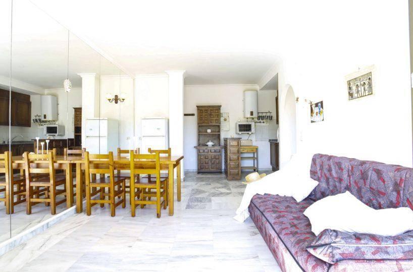 immo empuriabrava: appartement ref.3470, intérieur très lumineux avec le grand miroir