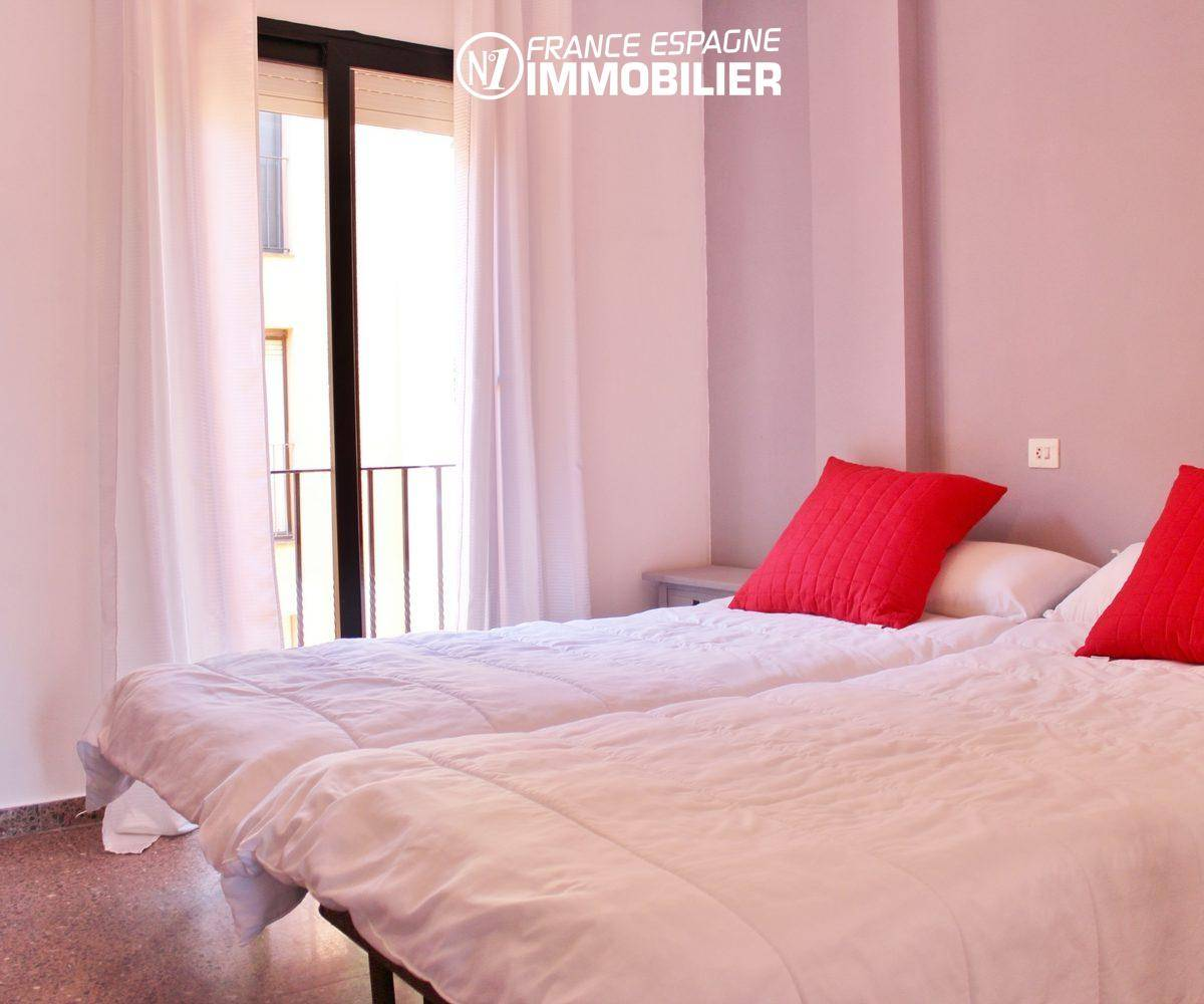 agence immobiliere empuriabrava: appartement ref.3471, chambre 1 avec lits jumeaux