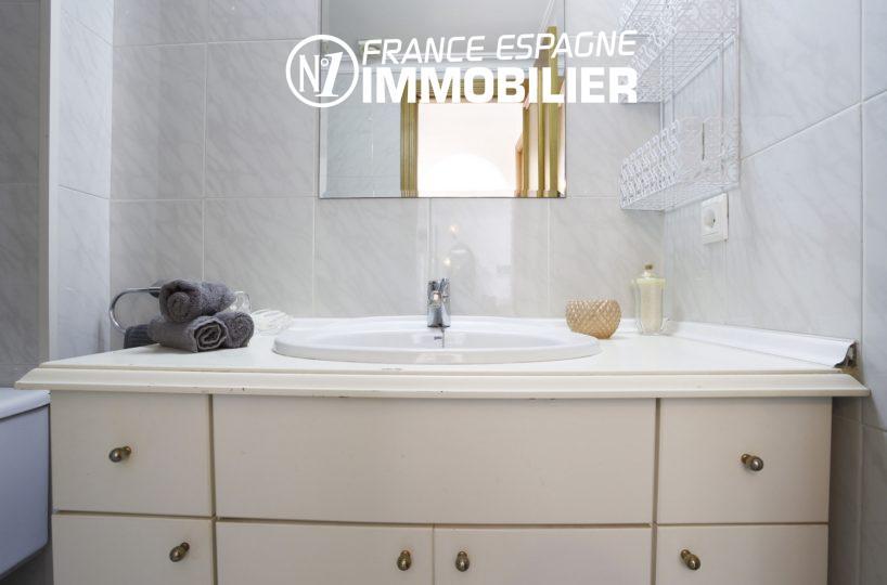 immobilier empuria brava: appartement ref.3470, évier de la salle d'eau