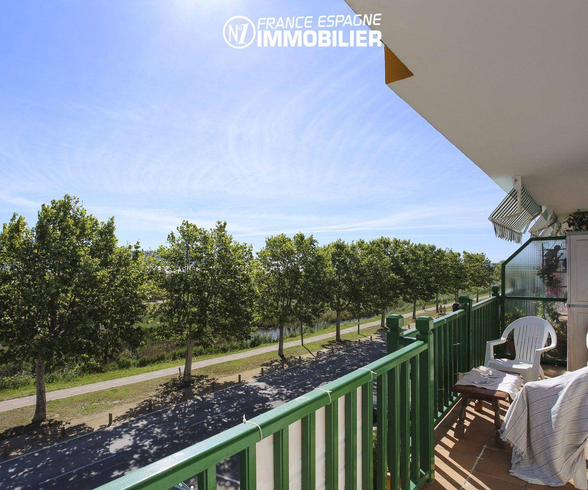 appartement costa brava,  ref.3470, autre vue depuis la terrasse 9 m²