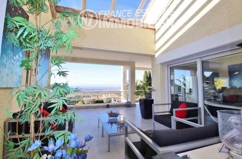 maison a vendre espagne catalogne, ref.3481, paysage magnifique depuis la terrasse