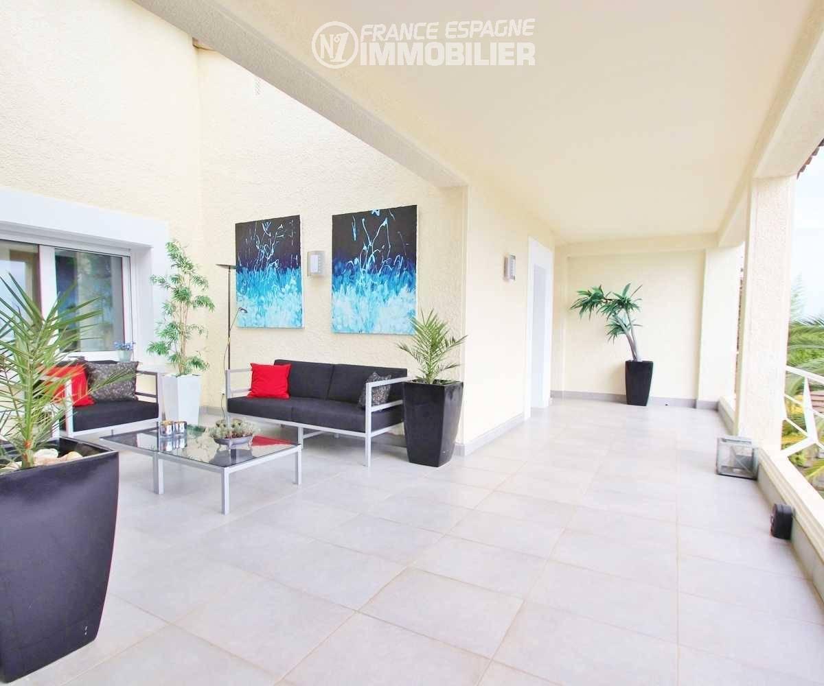 achat maison espagne costa brava, ref.3481, terrasse aménagée, coin détente