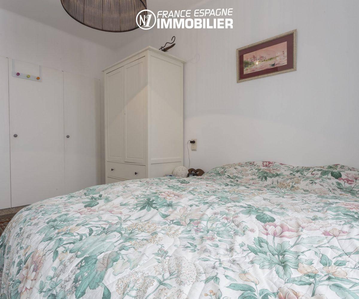 maison a vendre costa brava,  ref.3477, vue chambre 1 vers l'entrée