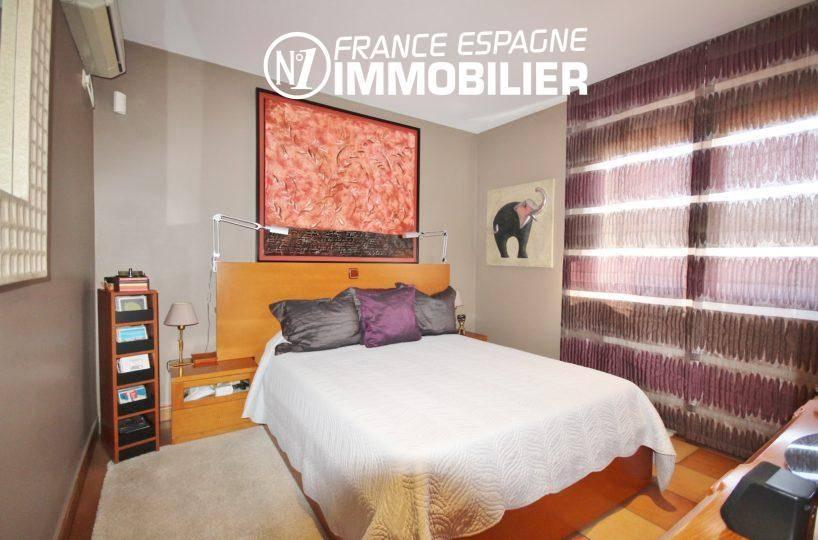 agence immobilière roses espagne: villa ref.3466, deuxième chambre avec lit double