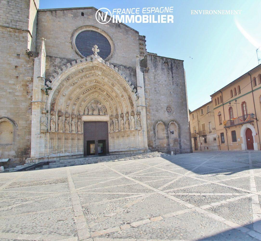 vente immobiliere espagne: villa ref.3477, église de Castello d'Empuries, à proximité