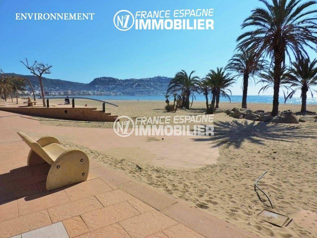rosas immobilier: villa ref.3466, apercu de la plage et des montagnes environnantes