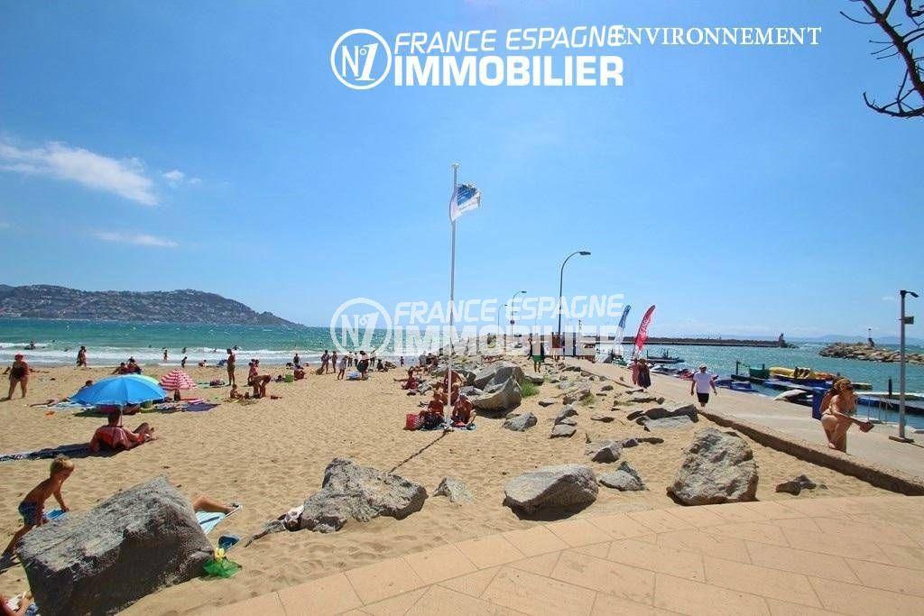 ventes immobilieres rosas espagne: villa ref.3466, promenade le long de la plage