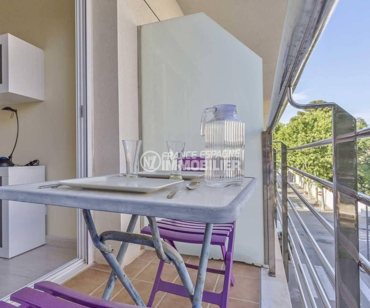 LLANCA- appartement petite vue mer - la terrasse