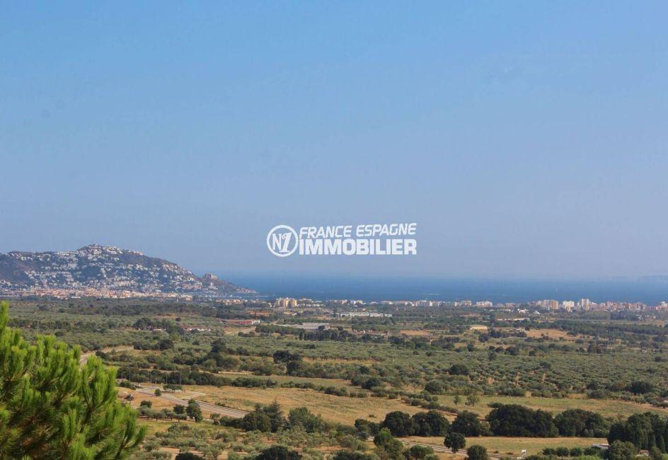 immo costa brava: villa ref.2364, magnifique vue sur montagnes et mer depuis la terrasse