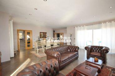 achat maison espagne costa brava, ref.2364, salon / salle à manger