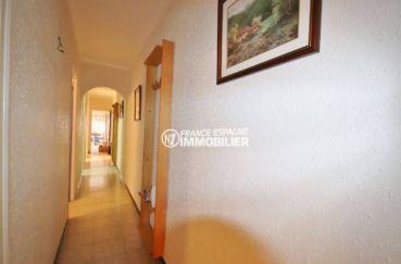 appartement a vendre a rosas, ref.3483, hall d'entrée qui dessert les autres pièces