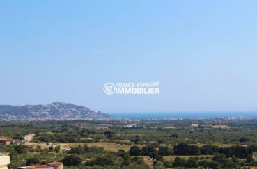 vente immobilier costa brava: villa ref.3501, vue dégagée depuis la terrasse