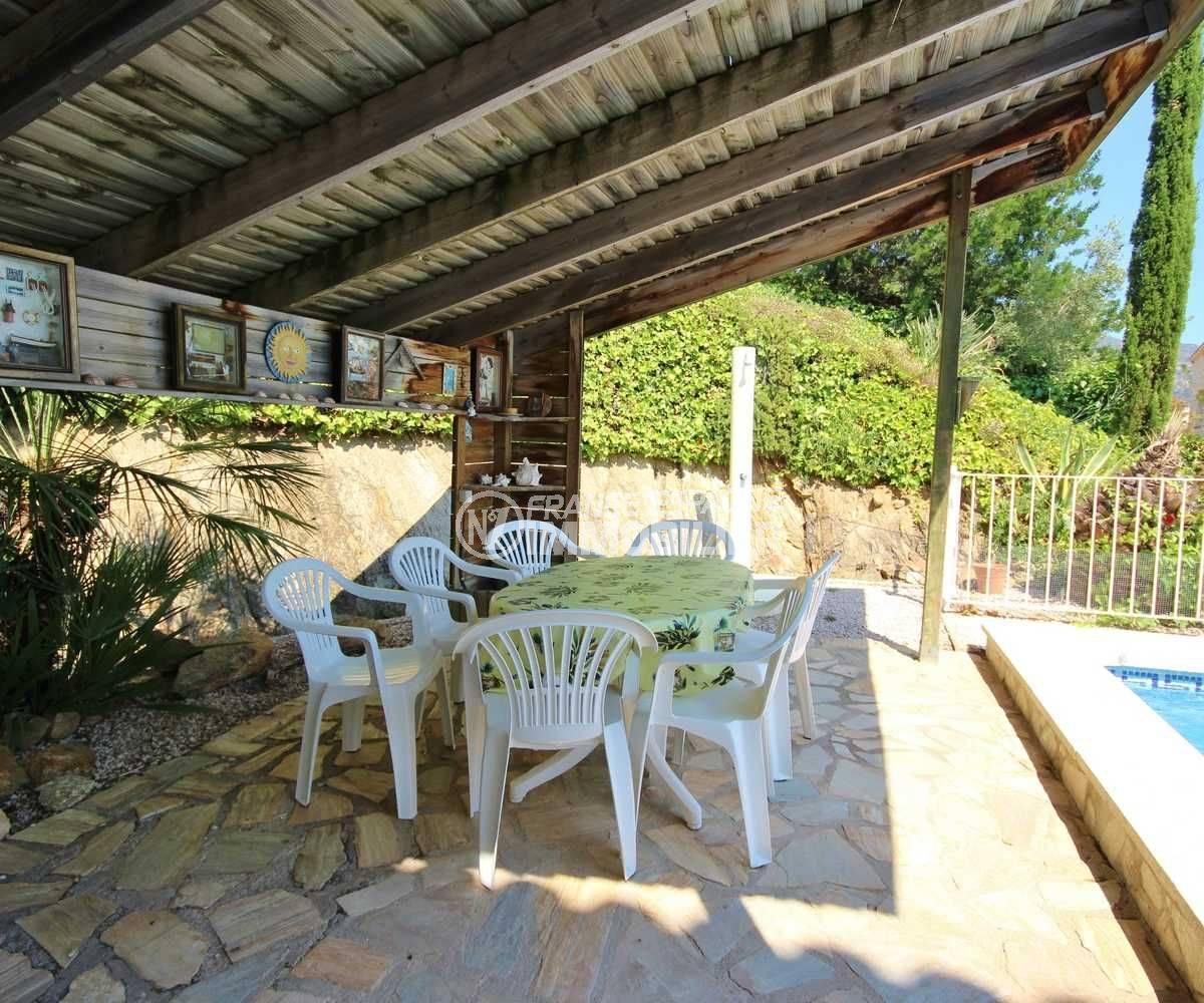 maison a vendre espagne bord de mer, ref.3501, terrasse espace couvert coin repas