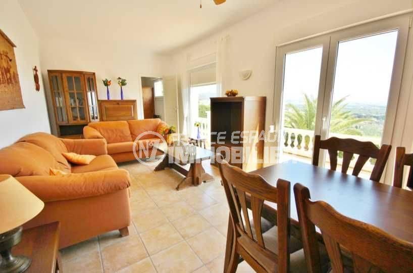 maison à vendre en espagne costa brava, ref.3501, salon / séjour appartement indépendant