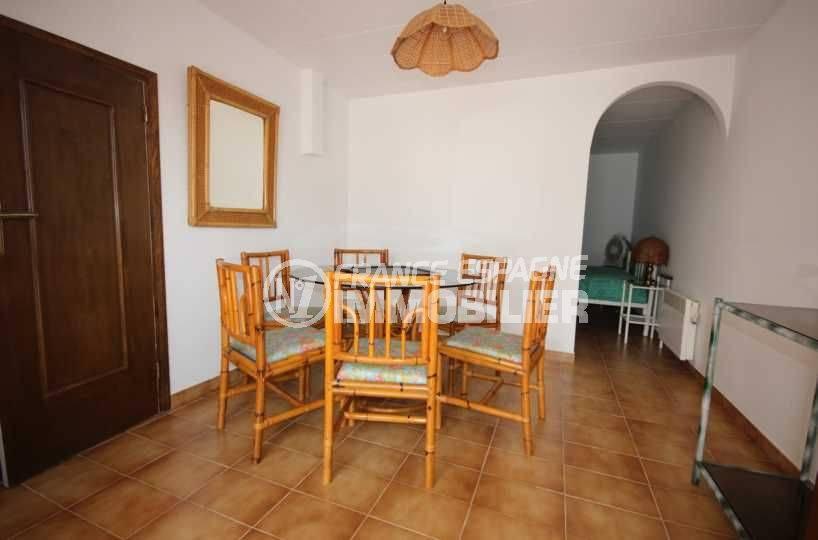 maison a vendre costa brava, ref.3498, côté salle à manger