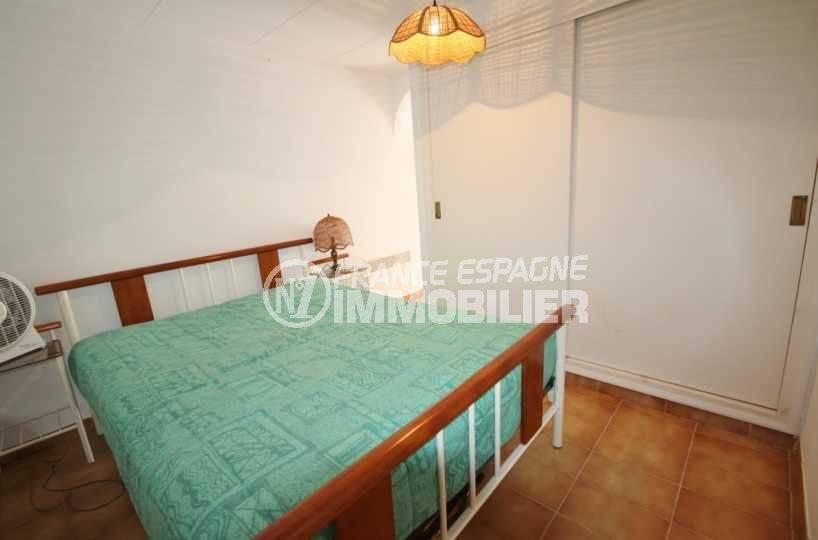 maison costa brava, ref.3498, troisième chambre avec placards intégrés