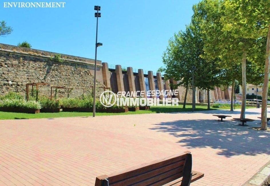 vente immobilier costa brava: ref.3483, aperçu de la citadelle de roses aux environs
