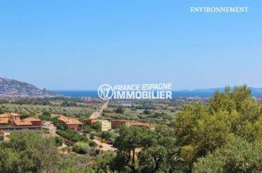 immobilier a vendre costa brava: ref.2364, magnifique vue sur le paysage environnant