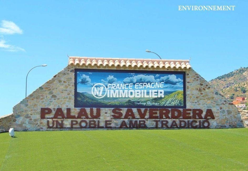achat maison sur la costa brava, ref.2364, vue sur l'entrée de la ville de palau