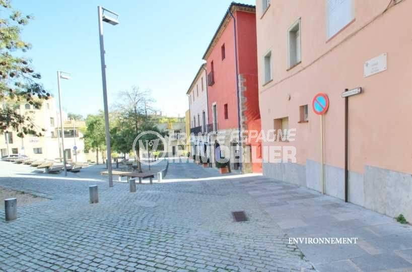 empuriabrava immobilier: villa ref.3498, aperçu du centre historique à Castello d'Empuries