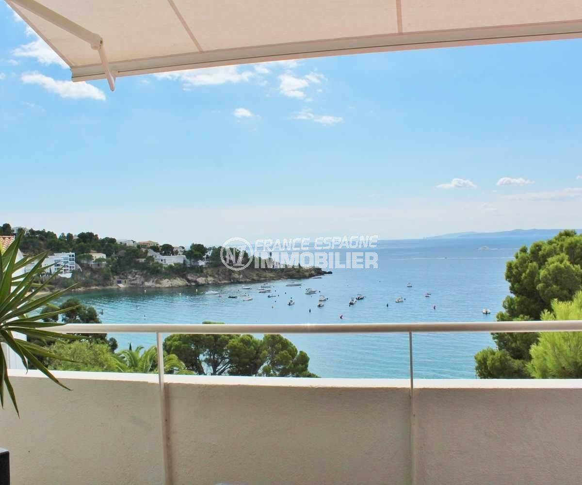 maison a vendre costa brava, rosas espagne, vue mer plage à 100 m