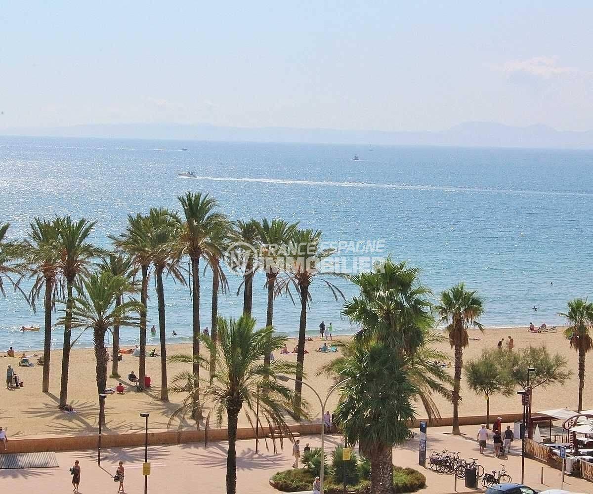 santa margarida appartement vue mer accès direct plage