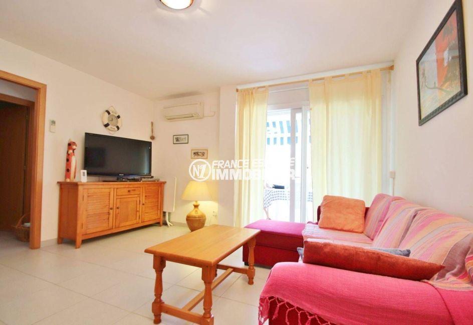 appartement costa brava, 66 m² proche plage & commerces
