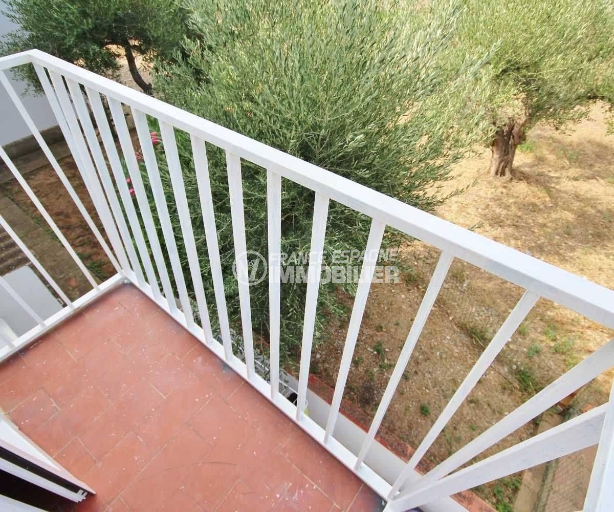 vente appartement costa brava,  ref.3493, balcon & vue parc de la résdence