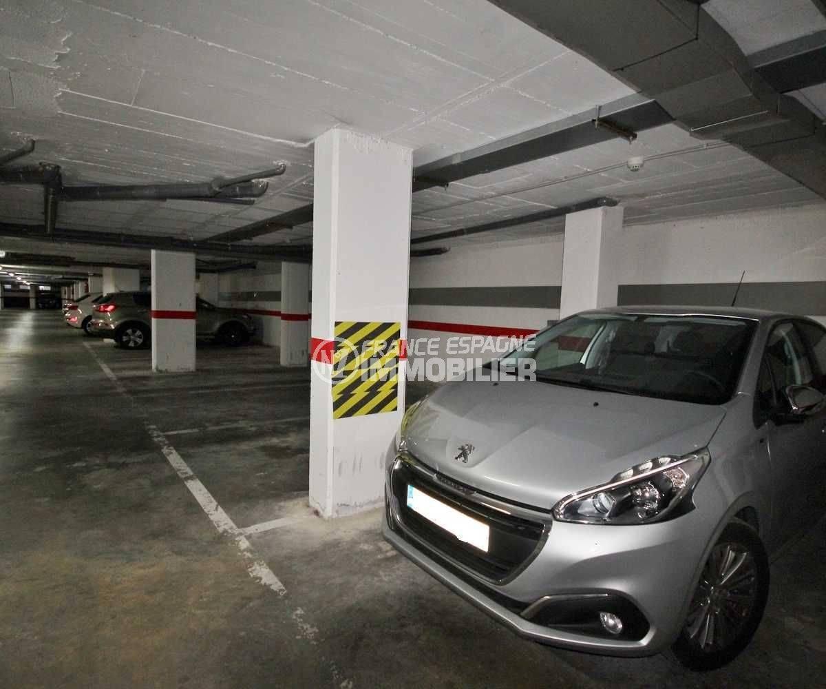 parking en sous sol